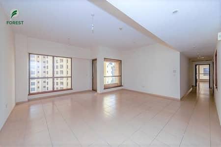 فلیٹ 3 غرف نوم للبيع في جميرا بيتش ريزيدنس، دبي - Spacious 3 Beds with Partial Sea View | Vacant