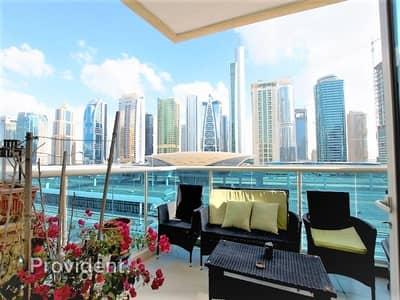 فلیٹ 2 غرفة نوم للبيع في دبي مارينا، دبي - Exclusive | Upgraded Unit | Rented| Next to Metro