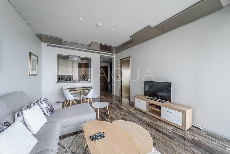 2 Sea Views | Fendi Casa | Furnished 1-Bed