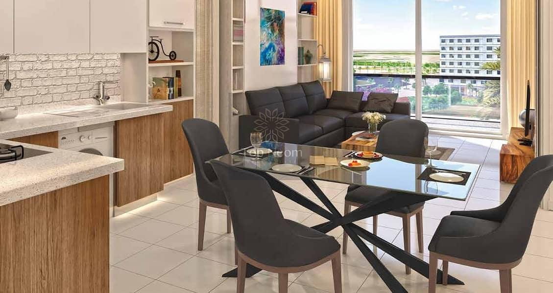 2 Convenient installment Apartment with 6 years Payment Plan