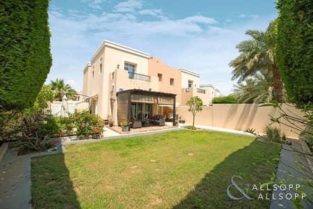 تاون هاوس 4 غرف نوم للبيع في المرابع العربية، دبي - Modified | Corner Plot | Single Row | 4Bed