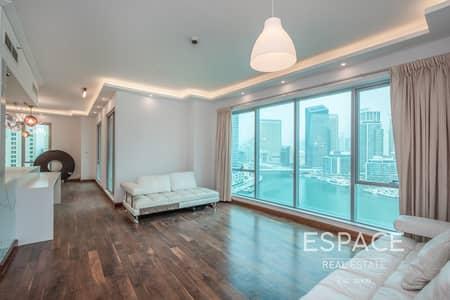 شقة 3 غرف نوم للبيع في دبي مارينا، دبي - 3 Bed | Upgraded | Marina View  | Vacant