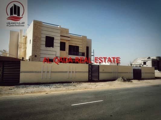 wonderful villa  smart design for sale in al hoshi sharjah