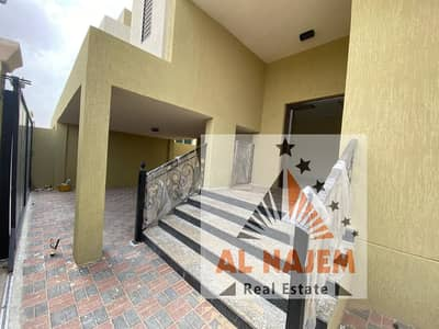 5 Bedroom Villa for Sale in Al Mowaihat, Ajman - Modern design villa, close to all services, the finest areas of Ajman (Al Mowaihat), freehold for all nationalities. . . .