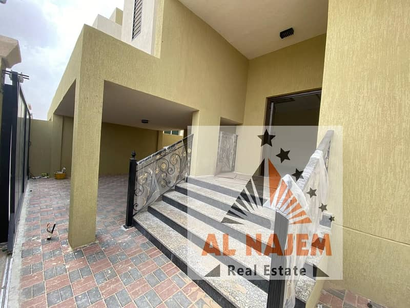 Modern design villa, close to all services, the finest areas of Ajman (Al Mowaihat), freehold for all nationalities. . . .