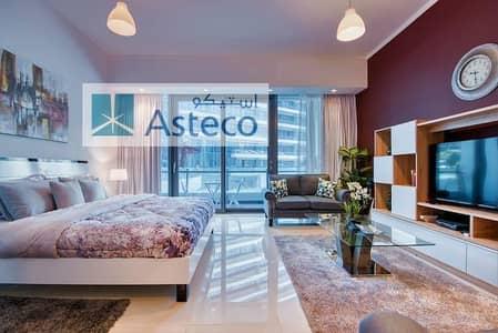 Studio for Rent in Dubai Marina, Dubai - Luxury | Studio | Fully Furnished | With Balcony