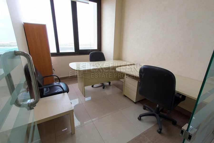 2 1.Fitted| No Commission| Sea View Office Space