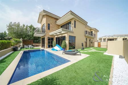 5 Bedroom Villa for Sale in Jumeirah Golf Estate, Dubai - New Listing | Rare E Type | Large Corner Plot