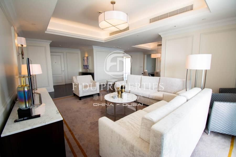 2 Furnished | Fountain View | Immaculately Spacious