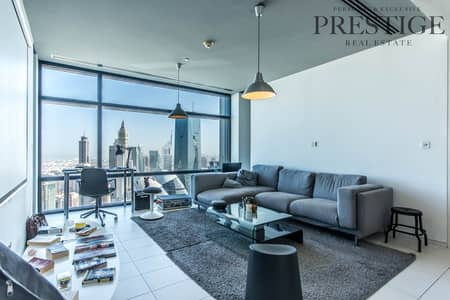 1 Bedroom Flat for Rent in DIFC, Dubai - High Floor | Vacant | Furnished | DIFC