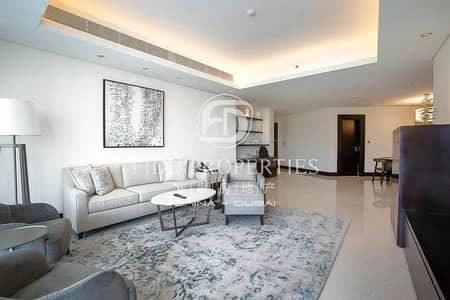شقة 2 غرفة نوم للايجار في وسط مدينة دبي، دبي - Fully Furnished | Burj Khalifa and Fountain View
