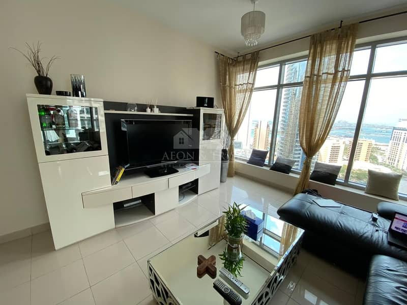 Modern-styled furnished unit | Marina and Sea view