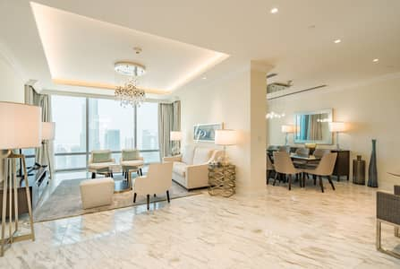 4 Bedroom Penthouse for Rent in Downtown Dubai, Dubai - Offering Complete Refinement|Elegant Modern Dcor