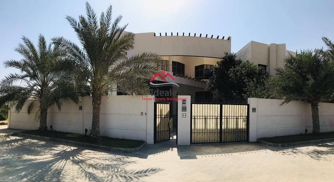 2 Beautiful and stunning villa in Khalifa city A.