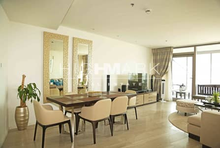 2 Bedroom Flat for Rent in Culture Village, Dubai - Amazing Skyline View Furnished Unit 2 Beds!