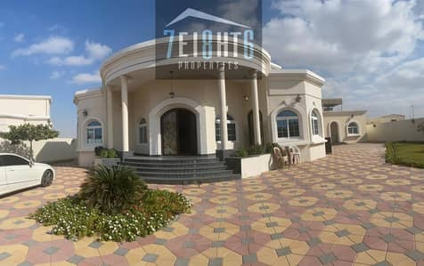 فیلا 3 غرف نوم للايجار في النوف، الشارقة - Excellent quality: 3 b/r high quality well maintained indep villa + maids room + stunning garden