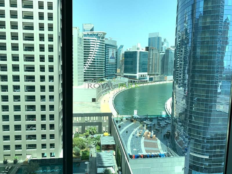 11 FITTED OFFICE With Lake View In Binary Tower Business Bay