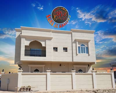 5 Bedroom Villa for Sale in Al Helio, Ajman - New first villa with electricity and water for sale in Ajman