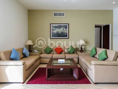 1 Bedroom Hotel Apartment for Rent in Bur Dubai, Dubai - FURNISHED AND SPACIOUS 1BHK HOTEL APARTMENT OPPOSITE LAMCY PLAZA
