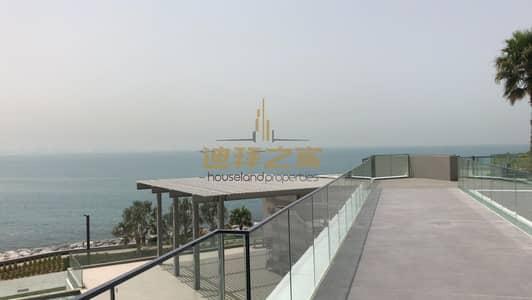 شقة 1 غرفة نوم للايجار في جزيرة بلوواترز، دبي - hot deal spacious 1bhk in blue water  unfurnishedd