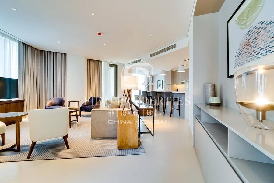 2 Luxury Furnished | Panoramic View | Brand New
