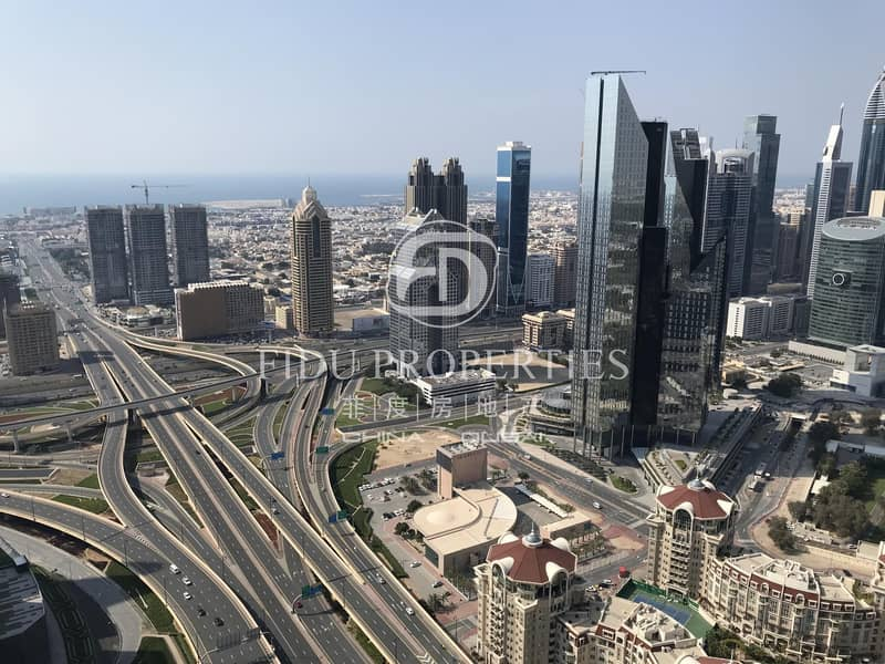 10 Luxury Furnished | High Floor | DIFC View | Vacant