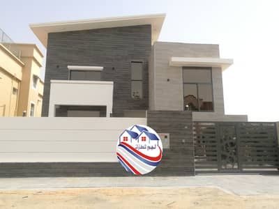 6 Bedroom Villa for Sale in Al Mowaihat, Ajman - Villa for sale, personal finishing, excellent price, Ajman, Al Mowaihat area, close to the main street, a large building area