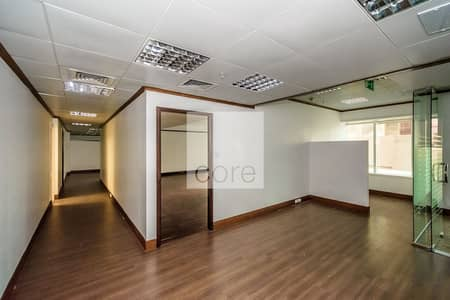 Office for Rent in Sheikh Zayed Road, Dubai - Low Floor | Fitted and Partitioned Office