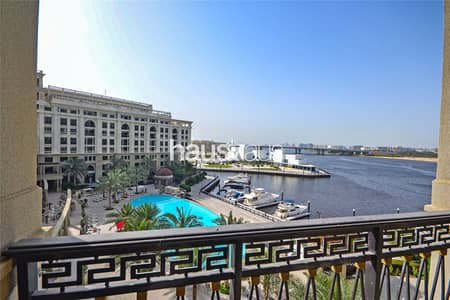 3 Bedroom Apartment for Rent in Culture Village, Dubai - 3 Bed Simplex | Versace Furnishings | Marina Views