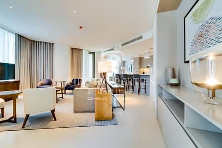 شقة 2 غرفة نوم للايجار في وسط مدينة دبي، دبي - Luxury Furnished I Panoramic View I Brand New