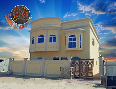 5 Bedroom Villa for Sale in Al Helio, Ajman - New two-storey villa with excellent finishes