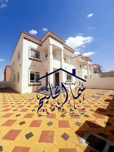 5 Bedroom Villa for Sale in Al Rawda, Ajman - stone face brand new villa for sale direct from the owner