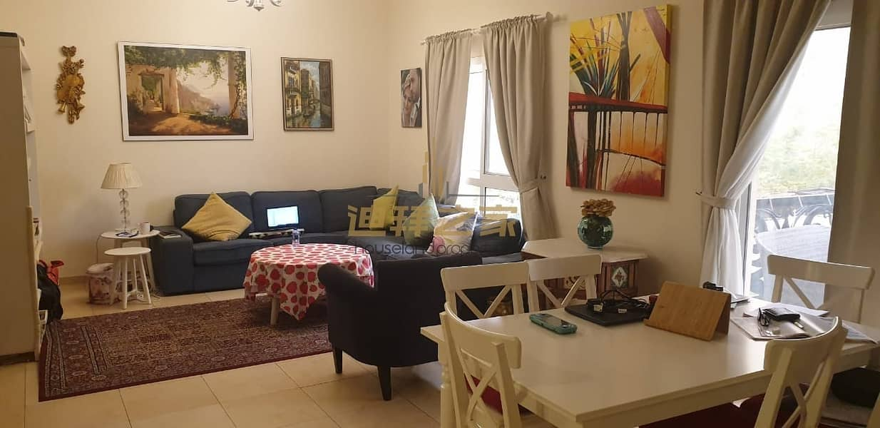 live in Nature Of Dubai Remraam    3 bedroom    Hot Deal