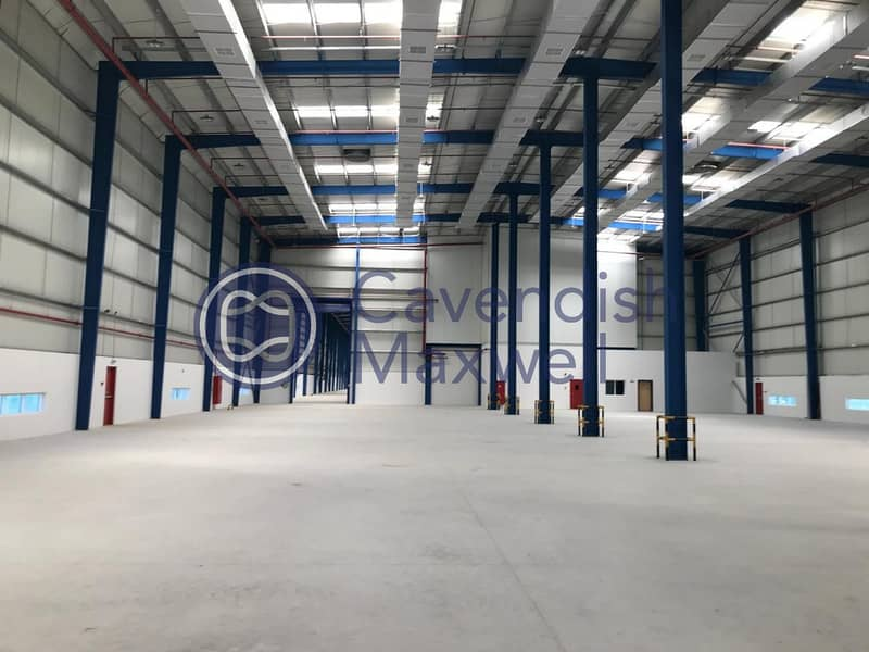 Warehouse with G+M Office | 800kW Power