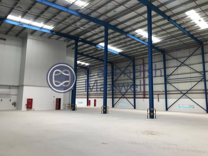 10 Warehouse with G+M Office | 800kW Power