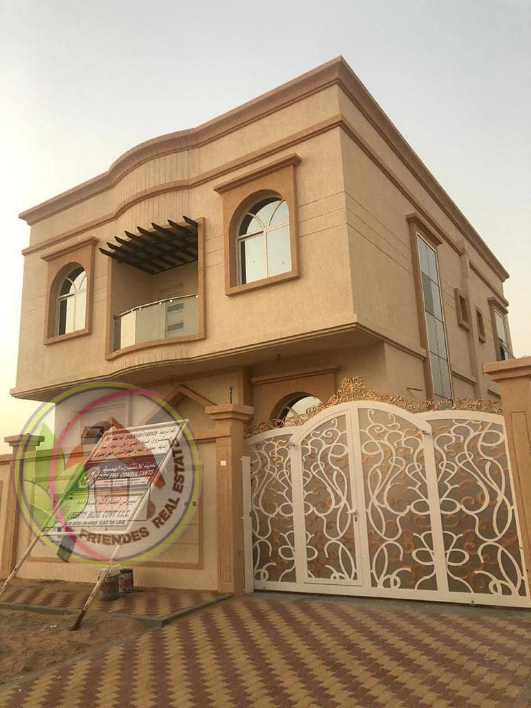 Owns a villa with modern European finishes to suit all tastes, the villa has a very excellent location, the corner of two streets, directly from the owner, opposite a mosque