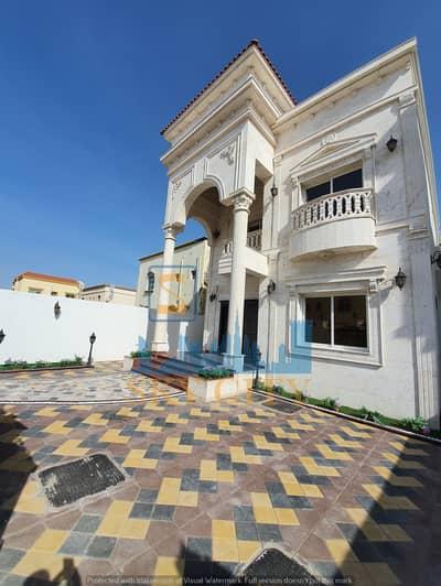 فیلا 5 غرف نوم للبيع في المويهات، عجمان - فيلا حجر مقابل مسجد موقع ممتاز اقل من ١٠  علي مطار دبي الدولي