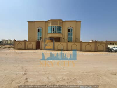 5 Bedroom Villa for Sale in Al Mowaihat, Ajman - Corner villa for two streets 6 bedrooms privileged location behind nesto mall directly opposite a mosque
