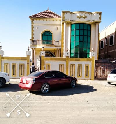 7 Bedroom Villa for Sale in Al Mowaihat, Ajman - Price negotiable and unparalleled location for sale next to the mosque central air conditioning villa 6 bedrooms with new external extension first inhabitant with the possibility of bank financing