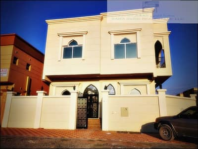 6 Bedroom Villa for Sale in Al Yasmeen, Ajman - New nice villa with electricity water corner for sale wow
