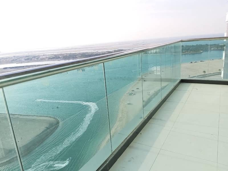 Brand new/ chiller free breathtaking view 3bhk apartment with all facilities in Mamzar sharjah