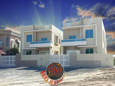 5 Bedroom Villa for Sale in Al Mowaihat, Ajman - Luxurious villa in Al Mowaihat for sale - modern design and great location