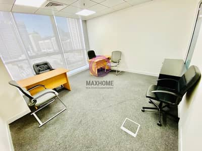 Office for Rent in Al Danah, Abu Dhabi - Modernly Designed Offices with DED Approved