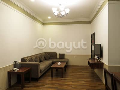 فیلا 2 غرفة نوم للايجار في شارع الملك فيصل، أم القيوين - للايجار فيلا غرفتين و صاله في منتجع جديد