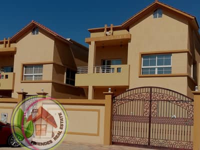 5 Bedroom Villa for Sale in Al Rawda, Ajman - I own a very classy villa with Islamic financing without down payment