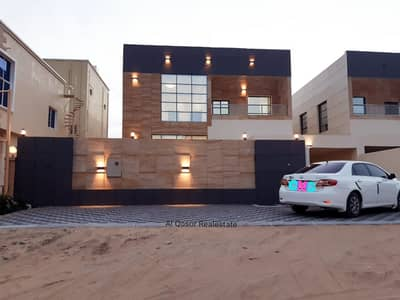 5 Bedroom Villa for Sale in Al Rawda, Ajman - & Villa for sale in Ajman, Al Rawda Modern area, personal finishing with the possibility of bank financing