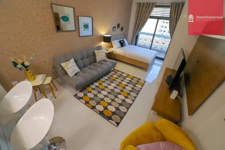 Studio for Rent in Jumeirah Village Triangle (JVT), Dubai - Furnished Studio in JVT | Plazzo Residence | 0% Commission