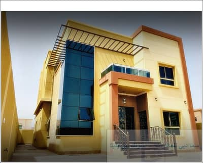 6 Bedroom Villa for Sale in Al Mowaihat, Ajman - Wonderful villa with new design for sale nice price