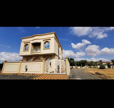 6 Bedroom Villa for Sale in Al Helio, Ajman - Without a first payment, personal finishing is freehold for all nationalities