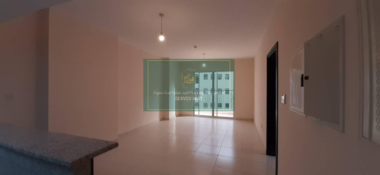 12 Cheques! Brand New! 1 Bed/Balcony in Rawdhat